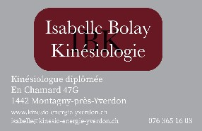Isabelle Bolay  Montagny-près-Yverdon